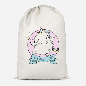 Be Magical & S*** Cotton Storage Bag