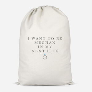 I Want To Be Meghan Cotton Storage Bag