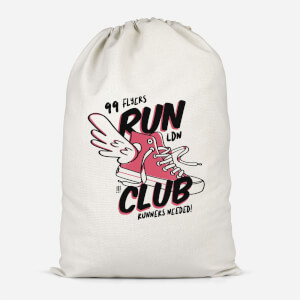 RUN CLUB 99 Cotton Storage Bag