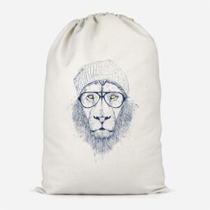 Lion Cotton Storage Bag
