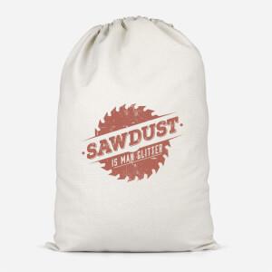 Sawdust Is Man Glitter Cotton Storage Bag
