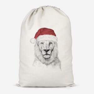Santa Lion Cotton Storage Bag