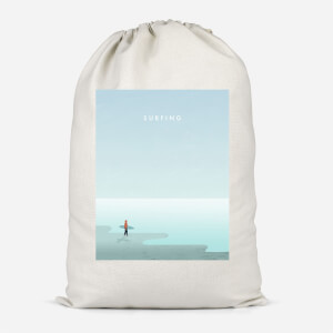 Surfing Cotton Storage Bag