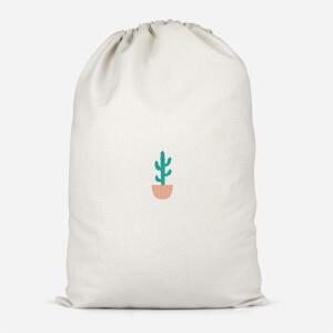 Cacti Pocket Cotton Storage Bag