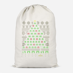Invaders From Space Cotton Storage Bag