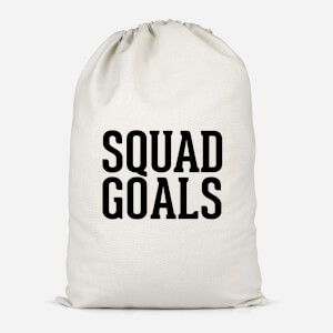 Squad Goals Cotton Storage Bag