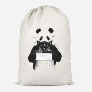 Bandana Panda Cotton Storage Bag