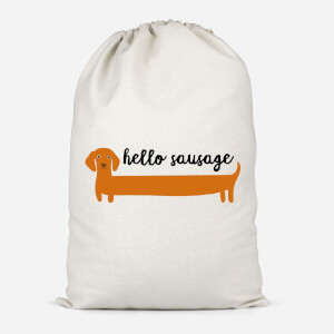 Hello Sausage Cotton Storage Bag