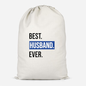 Best Husband Ever Cotton Storage Bag