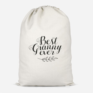 Best Granny Ever Cotton Storage Bag