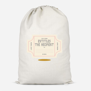 Love Token Cotton Storage Bag