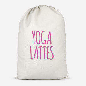 Yoga Lattes Cotton Storage Bag