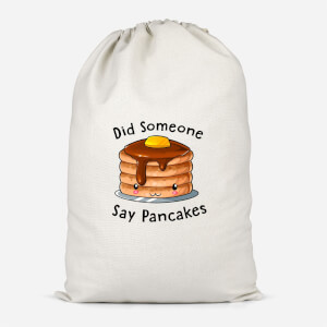 Did Someone Say Pancakes Cotton Storage Bag