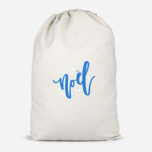 Noel Snowflakes Cotton Storage Bag