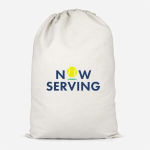 Now Serving Cotton Storage Bag