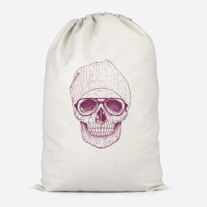 Skull Cotton Storage Bag