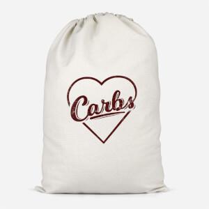Love Carbs Cotton Storage Bag