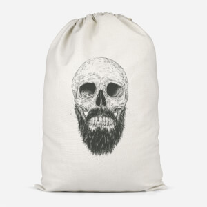 Bearded Skull Cotton Storage Bag