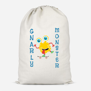 Gnarly Monster Cotton Storage Bag