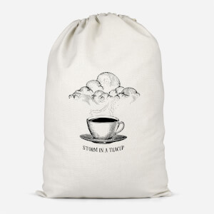 Storm In A Teacup Cotton Storage Bag