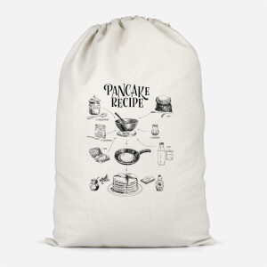 Pancake Recipe Cotton Storage Bag