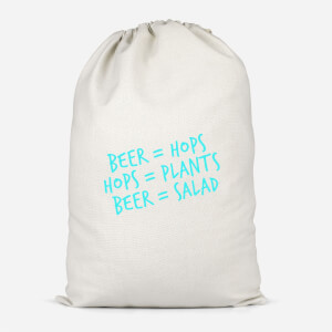 Beer Salad Cotton Storage Bag