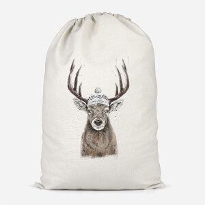 Winter Deer Cotton Storage Bag