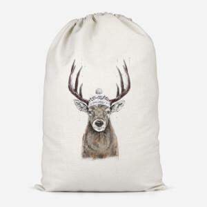 Winter Deer Cotton Storage Bag