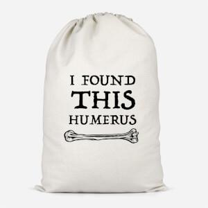 I Found This Humurus Cotton Storage Bag