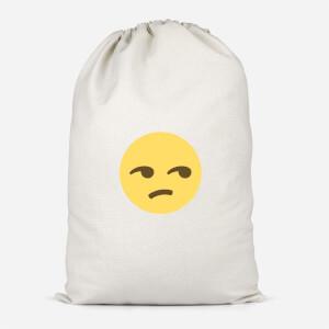 Side Eye Face Cotton Storage Bag