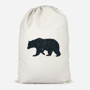 Bear Cotton Storage Bag
