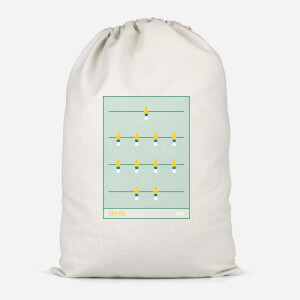 Brazil Fooseball Cotton Storage Bag