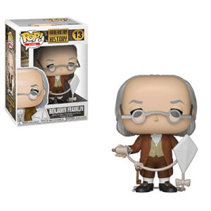 Figura Funko Pop! - Benjamin Franklin - Pop! Icons Historia Estadounidense