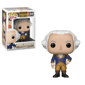 Figura Funko Pop! - George Washington - Pop! Icons Historia Estadounidense