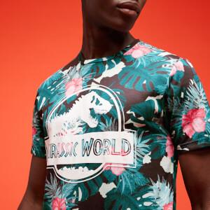 Jurassic Park Primal Floral Sublimation T-Shirt Unisexe