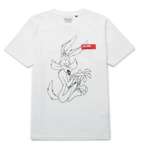 Looney Tunes Acme Wile E. Coyote Schets t-shirt - Wit
