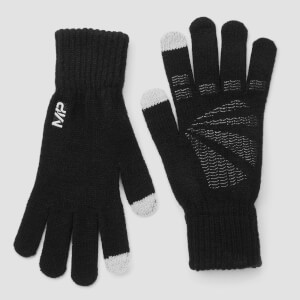 Myprotein Knitted Gloves - Black