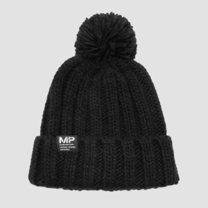 MP Bobble Hat - Black