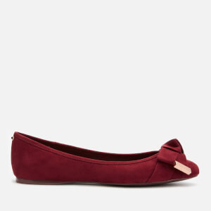 Ted Baker Women's Antheia Ballet Flats - Oxblood