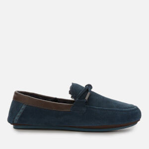 Ted Baker Men's Valcent Suede Mocassin Slippers - Dark Blue