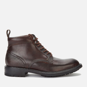 Ted Baker Men's Wottsn Leather Lace Up Boots - Brown