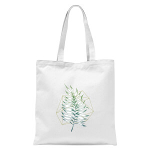 Geometry And Nature Tote Bag - White