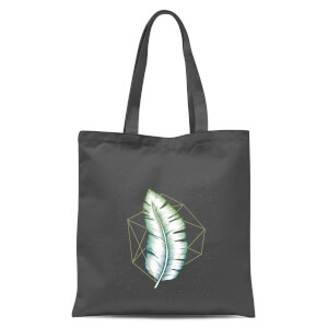 Geometry And Nature Tote Bag - Grey