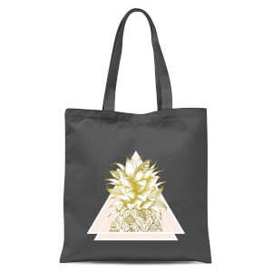 Pineapple Tote Bag - Grey