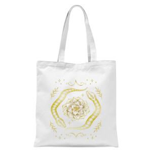 Snakes Tote Bag - White