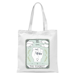 The Feminist Tote Bag - White