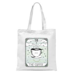 The Coffee Tote Bag - White