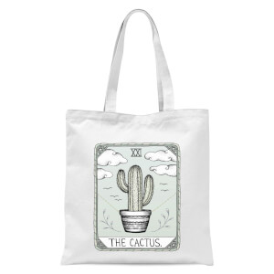 The Cactus Tote Bag - White