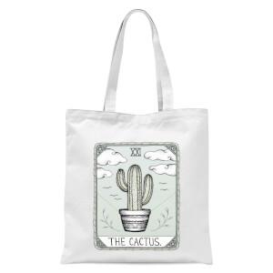 The Cactus Tote Bag - White