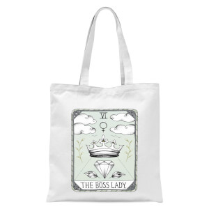 The Boss Lady Tote Bag - White